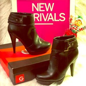 G by Guess Disco2 Black Ankle Boots 🥰